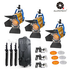 Wireless Remote Bi-color 3PCS LED 150W +stand LED Spotlight kit For photography