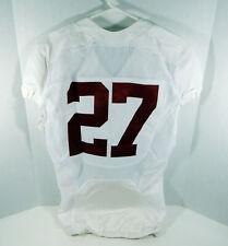 2009-15 Alabama Crimson Tide #27 Game Used White Jersey BAMA00247