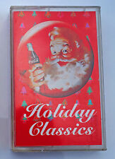 COCA COLA Christmas  Holiday Classics  Music CASSETTE  Album