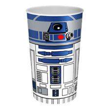 122078 STAR WARS R2D2 DROID LENTICULAR PLASTIC DRINK CUP TUMBLER