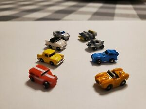 RARE VINTAGE GALOOB MICRO MACHINES MINI INSIDERS LOT OF 8  - CHECK IT OUT!!