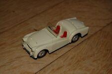 Corgi Toys 301 Triumph TR2 Cabrio creme nm 1:43 60er Jahre rare very nice