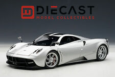 AUTOART 78266 PAGANI HUAYRA, METALLIC SILVER 1:18TH SCALE