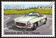 1954-1963 Mercedes Benz 300SL Menta sello del automóvil Coche (1998) Zambia