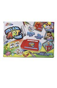 Grafix Roll & Go Art Desk Childrens Creative Art Craft Activity Colouring Kit