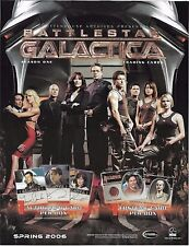 2006 Battlestar Galactica Season 1 Complete Master Set All Autographs Incentives
