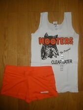 NEW HOOTERS SEXY UNIFORM HALLOWEEN COSTUME CLEARWATER FLORIDA MED/SM W/EXTRAS