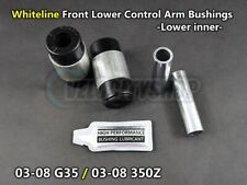 Whiteline Front Lower Control Arm Bushings (inner) for 03-08 G35 and 03-08 350Z