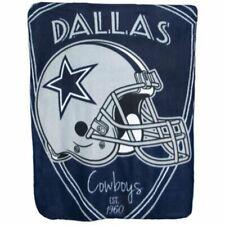 NEW Dallas Cowboys Fleece Throw Blanket 40in x 50in