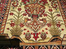 Persian Art Exhibition Antique Genuine Tabrizz Directional Rug