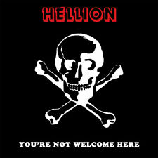 HELLION-You're Not Welcome Here CD Atomkraft, FEAR,Venom,Pentagram,Rare,Private