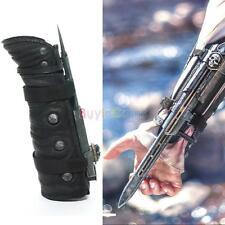 Fashion 1pcs Assassins Creed 4 Black Flag Pirate Hidden Blade Gauntlet Cosplay