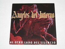 """ANGELES DEL INFIERNO AL OTRO LADO DEL SILENCIO HEAVY METAL SPANISH """"PROMO"""" 7"""""""