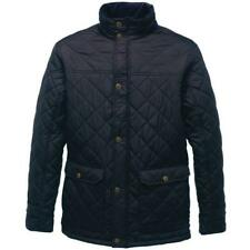 Regatta Mens Tyler Quilted Jacket Tra441 Navy Large