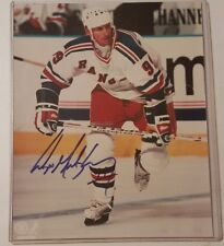 Wayne Gretzky HOF NEW YORK RANGER  SIGNED AUTOGRAPHED 8x10 PHOTO NO COA BOLD SIG