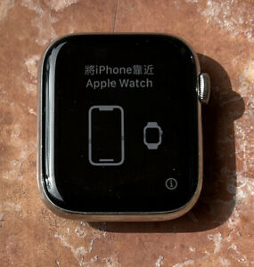 Apple Watch Series 4 44 mm Stainless Steel Case GPS + Cellular