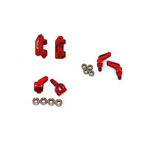 Traxxas Slash Rustler STRC Aluminum Steering Knuckle Axle Carriers Caster Blocks
