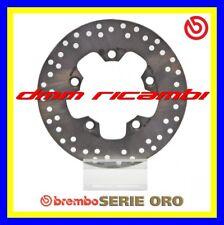 Disco freno posteriore BREMBO serie ORO SUZUKI BURGMAN 400 09>10 K7 K8 2009 2010