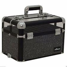 Nail Polish Storage Beauty Train Case Organizer Box Storage Holder Drawer Travel