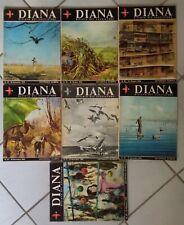 CACCIA Diana La rivista del cacciatore - lotto 7 riviste 1966