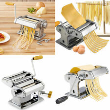 Pasta Maker Kitchen Spaghetti Roller Lasagne Tagliatelle Cutter Manual Machine