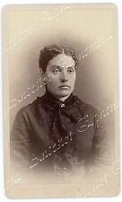 Marilla Lillie Curtis ALLEN William POWELL CDV photo CT Kirwin KS SACKETT TIPTON