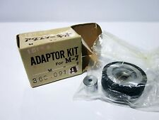 Vintage AKAI M-7 M-8 15 IPS Speed Adaptor Kit Pinch Roller Manual & Brochure