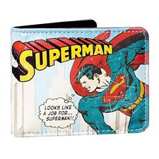 DC COMICS SUPERMAN VINYL WALLET BRAND NEW IN GIFT BOX GREAT GIFT