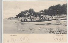 Isle of Wight; The Green, Cowes PPC, 1903, To Miss Hicks, Shirley, Southampton