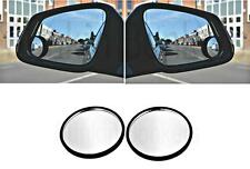 2 CONVEX BLIND SPOT MIRRORS TOWING BLINDSPOT MIRROR FOR SUPERB ACCURACY CAR 01