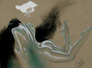 She Hulk : Pastels Art by Shelton Bryant