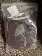 New listing Enthusiast gear dog leash w/ locking carabiner 6 ft long full grain leather