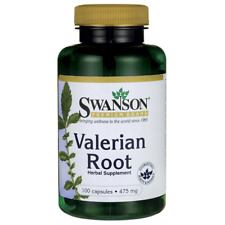 Swanson Valerian Root 475 mg 100 Caps