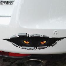 Monster Leopard Peeking Funny Car Van Rear Trunk Window Vinyl 3D Sticker Decal