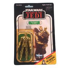 Kenner Vintage Star Wars C3PO Action Figure Card MOC 65 Back Jedi Emperor Offer