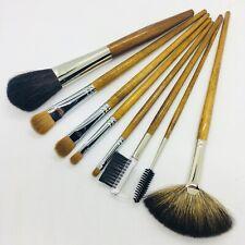 8 Pc Makeup Brush Set Detail Angular Tip Eyeshadow Line Brush Kolinsky Sable T4