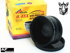 Z10u 46mm HD 0.45X Wide Angle Lens w/ Macro for Panasonic Lumix G 20mm F1.7 II