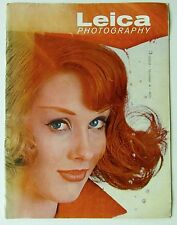 1959 LEICA MAGAZINE Vintage Photography Beautiful Woman Toby Gemperle Hiro cover