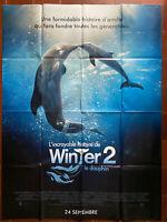 Plakat DIE UNGLAUBLICHE Geschichte Von Winther Le Delfin 2 Ozean Meer Kinder