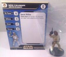 Star Wars Rebel Storm 53/60 Mon Calamari Mercenary (C) Miniature