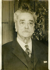 """""""Mr Gaston THOMSON (Rentrée des Chambres 1932)"""" Photo originale G. DEVRED / ROL"""