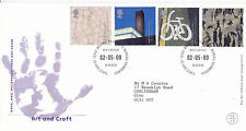 2 MAY 2000 ART & CRAFT ROYAL MAIL FIRST DAY COVER BUREAU SHS (a)