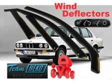 BMW 3 Series E30 1983 - 1990  Wind deflectors 4.pc set HEKO 11111