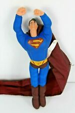 "DC Comics Superman 2005 Mattel 26"" Long Cape Polyester Flying Action Figure"