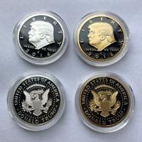 2x 2016 US American Presidential Campaign Donald Trump EAGLE Commemorative Coin