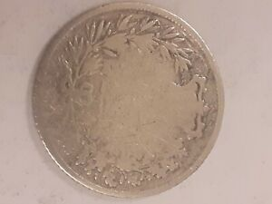 1834 WILLIAM IV SILVER ONE SHILLING (1/-) COIN, see pics.