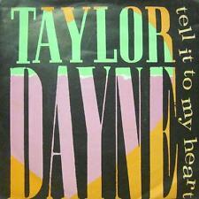 "Taylor Dayne(7"" Vinyl P/S)Tell It To My Heart-109 616-65-VG/Ex"