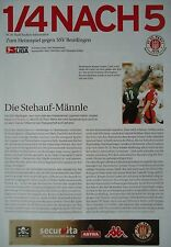 Programm Info 2002/03 FC St. Pauli - SSV Reutlingen