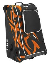 "Grit Inc HTFX Hockey Tower 33"" Wheeled Equipment Bag Orange HTFX033-PH (Philly)"