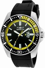 Invicta pro Diver 21444 Men's Round Black Analog Date Stainless Steel Watch